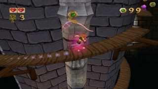 Pandemonium PC gameplay. (HQ). Level 2 - Hollow Stairway.
