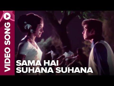 Sama Hai Suhana Suhana Video Song Ghar Ghar Ki Kahaani Rakesh Roshan, Jalal Agha