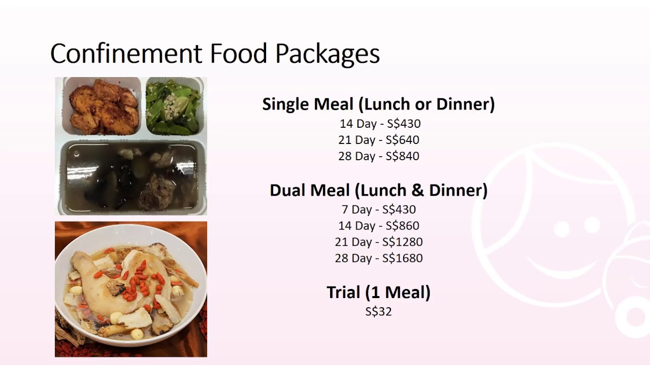 Confinement food catering singapore youtube confinement food catering singapore forumfinder Images