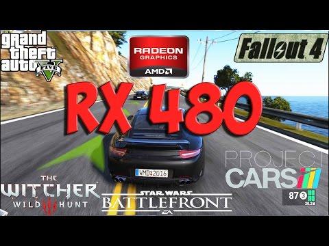 Radeon RX 480 Test in 5 Games (i5 4690k)