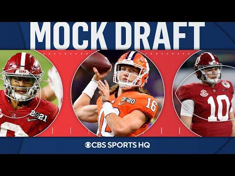 2021 NFL Mock Draft: Dolphins make shocking pick at No. 3, Eagles take a QB at No. 6 | CBS Sports HQ
