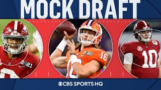 2021 NFL Mock Draft: Dolphins make shocking pick at No. 3, Eagles take a QB at No. 6 | CBS Sports HQ