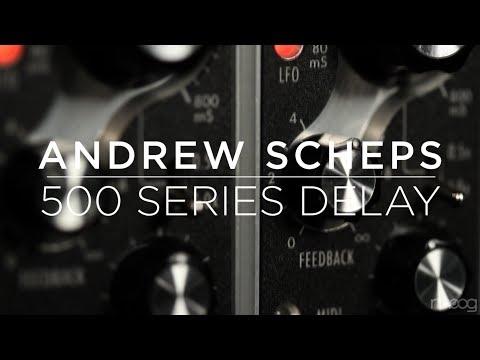 Moog 500 Series Analog Delay | Andrew Scheps