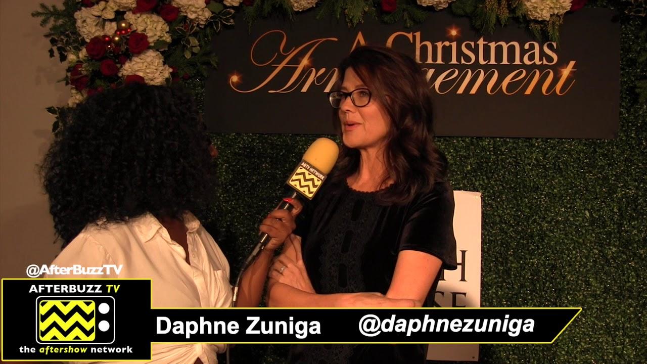 A Christmas Arrangement.Daphne Zuniga Talks Lifetime S A Christmas Arrangement