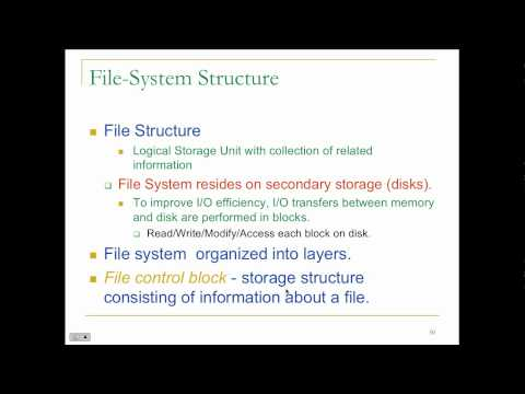 Principles of Operating System - Lecture 9