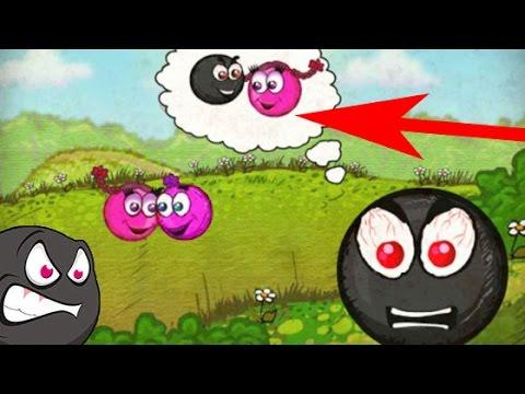 Red Ball 3 Pink ball Complete Game Walkthrough (all 1 - 20 lvl) + Boss fight