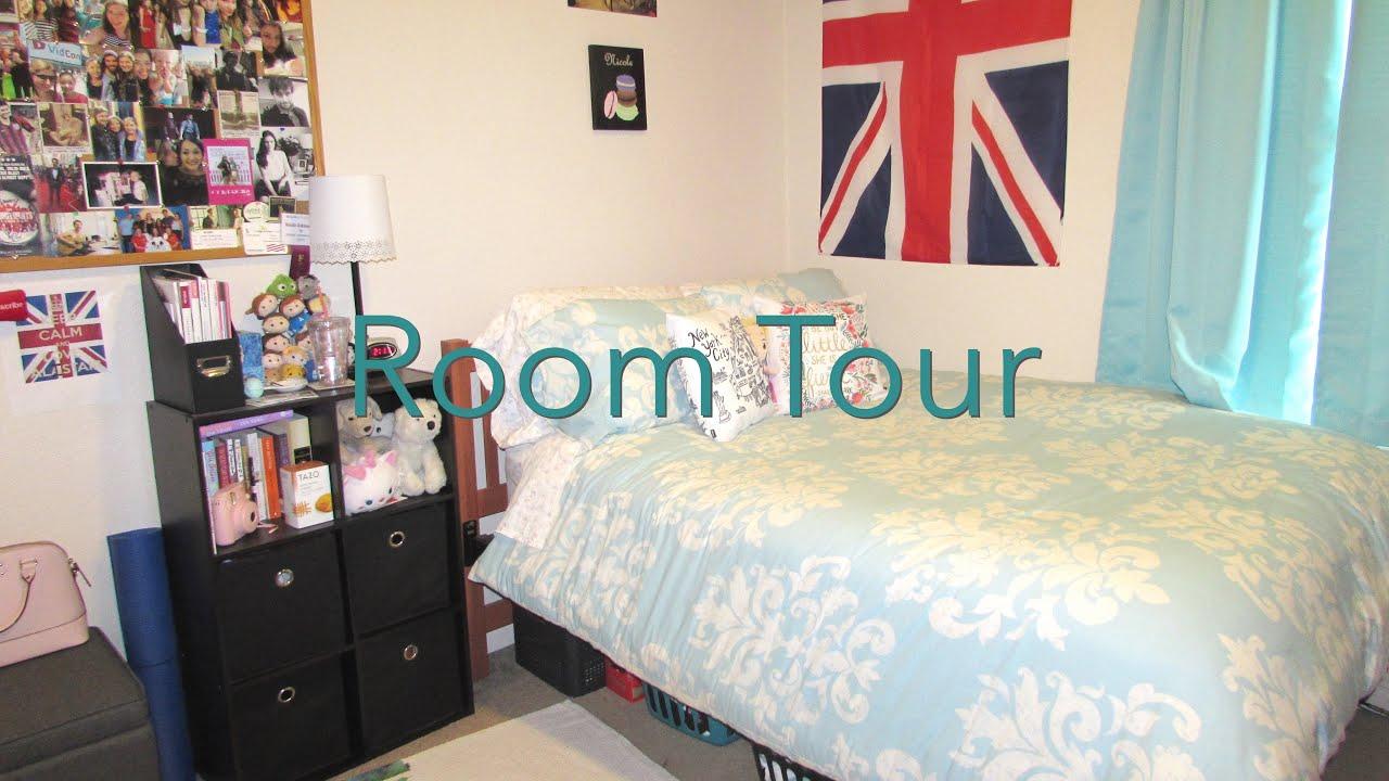 MY ROOM TOUR! || Elon University Oaks Apartments - YouTube