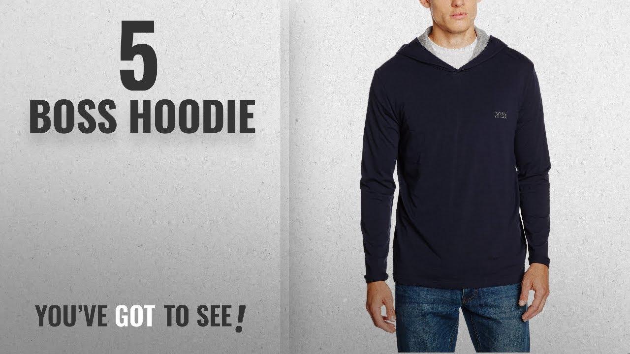 d5f5d841 Top 10 Boss Hoodie [2018]: BOSS Hugo Boss Men's LS-Shirt Hooded ...