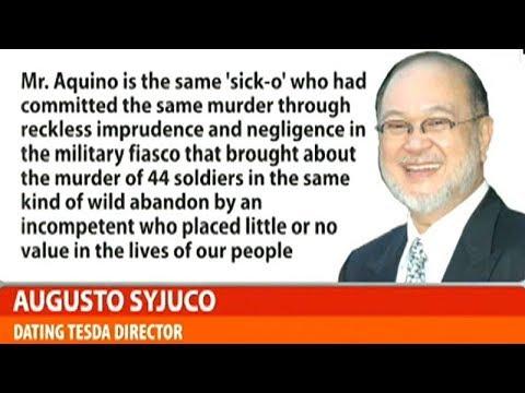 Plunder at mass murder complaint, inihain laban kina Noynoy Aquino at dating DOH Sec. Garin