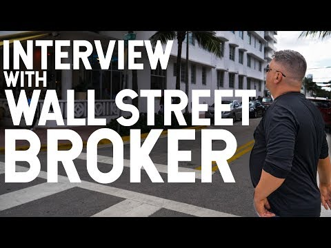INTERVIEW WITH WALL STREET BROKER! SVP OF SPEEDTRADER