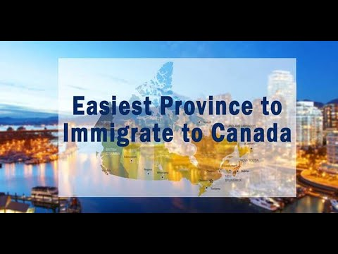 Easiest Top 5 Province To Get Canadian PR In 2020