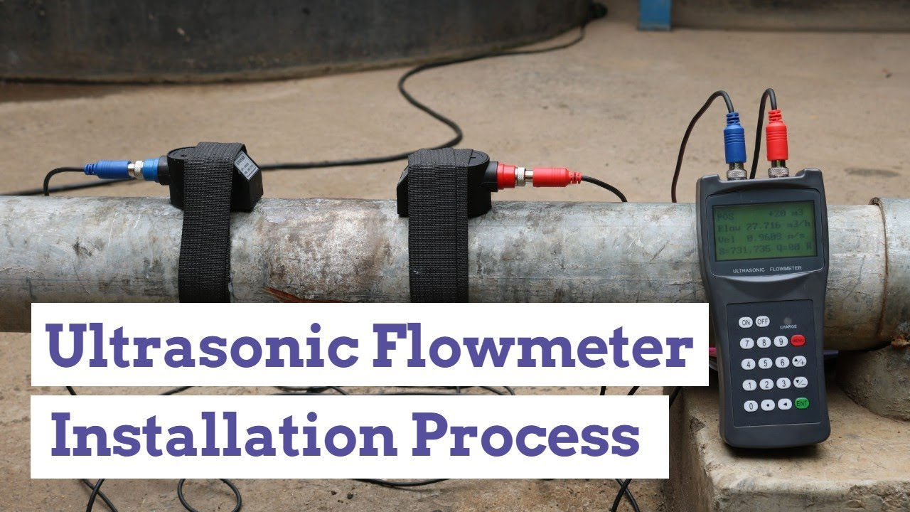 PORTABLE ULTRASONIC FLOW METER INSTALLATION TUTORIAL   HOW TO SOLVE 'NO SIGNAL' MESSAGE