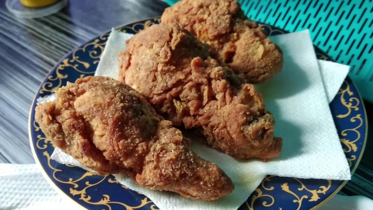 Mencuba Resepi Ayam Goreng Kabut Hanis Zalikha Trying Kabut Fried Chicken Recipe Hanis Zalikha Youtube