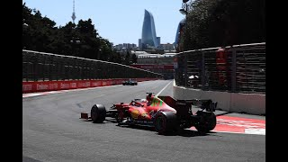 Формула 1 Гран при Азербайджана квалификация итог и результат