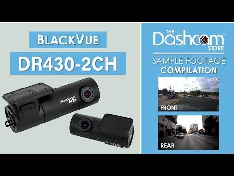 BlackVue DR430-2CH Dash Cam Sample Footage | The Dashcam Store