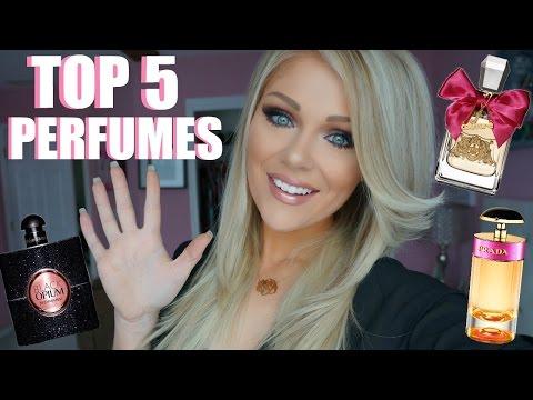 Top 5 Perfumes 2016 | My Favorite Perfumes