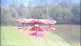 Repeat youtube video RagWing RW9 MotorBipe + RW16 Aerial  - Design description
