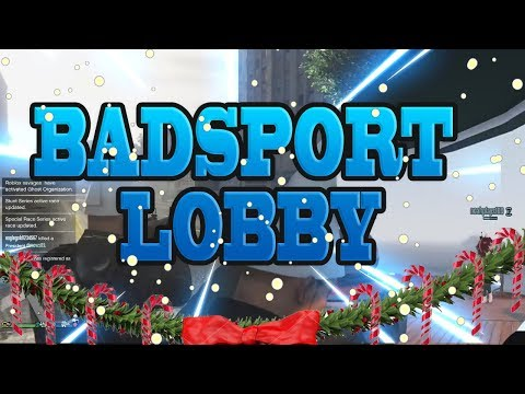 SO THIS IS A BAD SPORT LOBBY EH ? ( GTA 5 ONLINE )