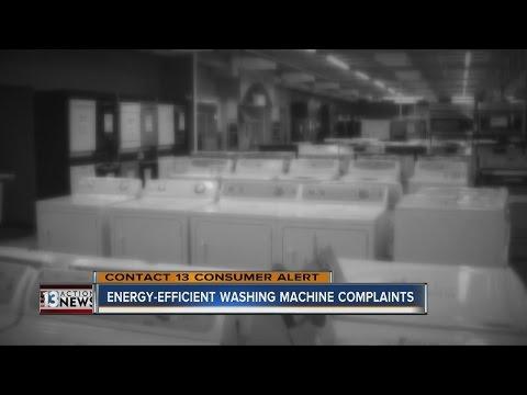 Complaints about energy efficient washing machines