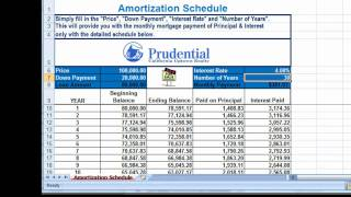 FREE Excel Amortization Mortgage Payment Calculator