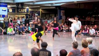 Badtameez Dil - Bollywood Remixed @ Robson Square - Bollywood Dance Performance