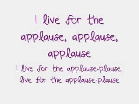 Lady Gaga - Applause Lyrics