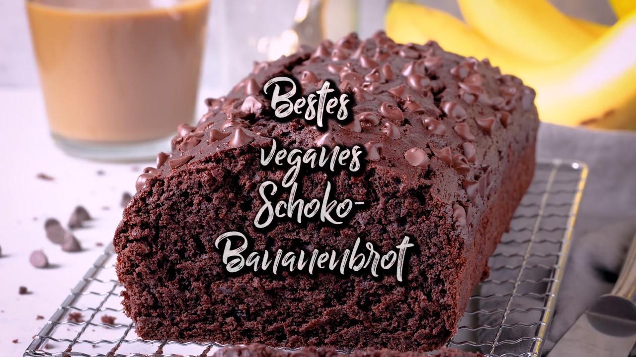 Das Beste Vegane Schoko Bananenbrot - So einfach & unglaublich lecker!