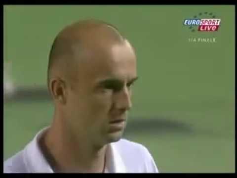 2006 Australian Open 1/4 - Baghdatis vs Ljubicic