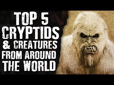 TOP 5 CRYPTIDS & CREATURES from around THE WORLD
