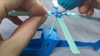 3Doodler Start Helicopter - Stencil