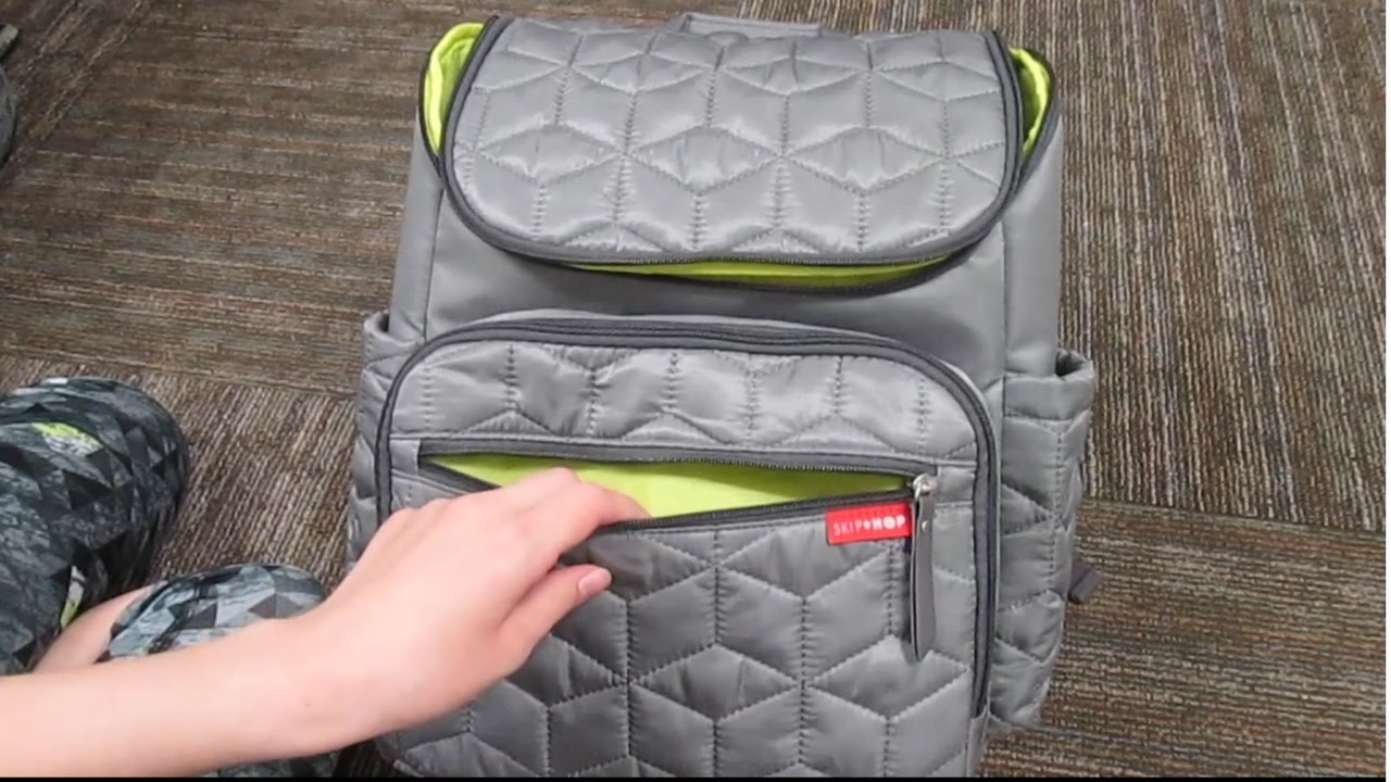 7ddc235ef22 Diaper bag review first impressions!