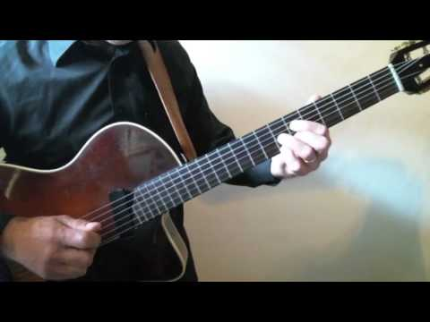 Frank Vignola Guitar Lessons - After You've Gone Chord Melody Practice Tempo