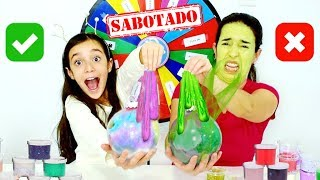 ROLETA MISTERIOSA de SLIME SABOTADO no ENFEITE de NATAL ★ The Mystery Wheel of Slime Challenge thumbnail