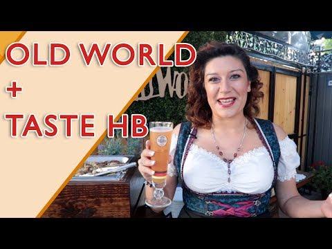 Old World In Old World Villlage In Huntington Beach HB For The Taste Of Huntington Beach #tastehb