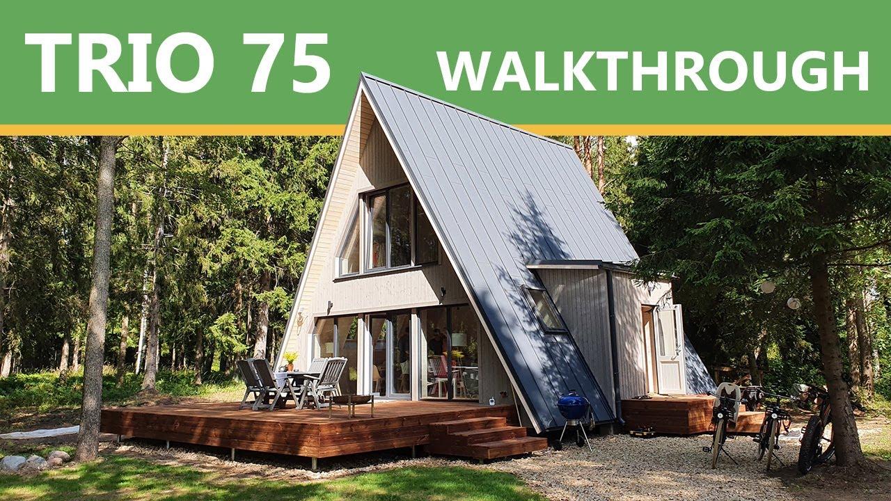 A-FRAME TRIO 75 VIRTUAL TOUR / WALKTHROUGH