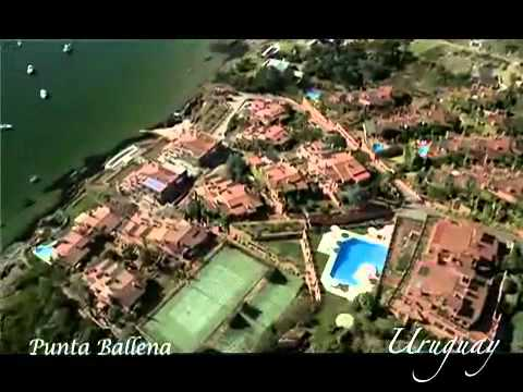 Aerial views of Uruguay tourism spots