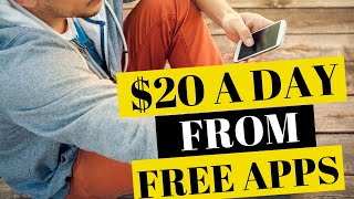 BEST 2 FREE APPS TO MAKE MONEY FROM YOUR PHONE - $20 A DAY 2019