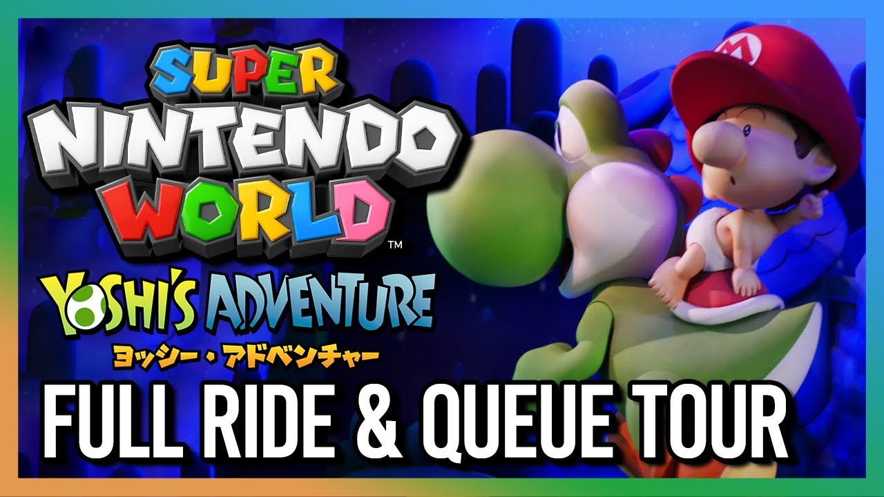 SUPER NINTENDO WORLD: Yoshi´s Adventure