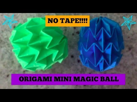 Origami: MAGIC BALL - Yakomoga EASY Origami tutorial - YouTube | 360x480
