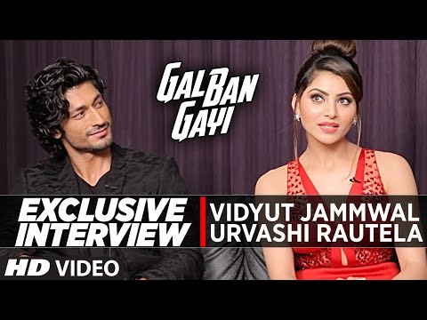 Exclusive Interview with Urvashi Rautela & Vidyut Jammwal || Gal Ban Gayi || T-Series