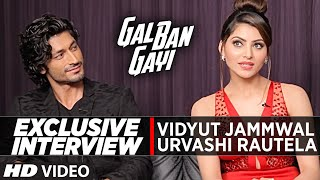 Download Hindi Video Songs - Exclusive Interview with Urvashi Rautela & Vidyut Jammwal || Gal Ban Gayi || T-Series