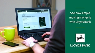 Moving Money with Lloyds Bank Internet Banking