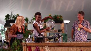 Wiyaala Cooks TZ, a Ghanaian Meal For Festival Goers at Womad UK