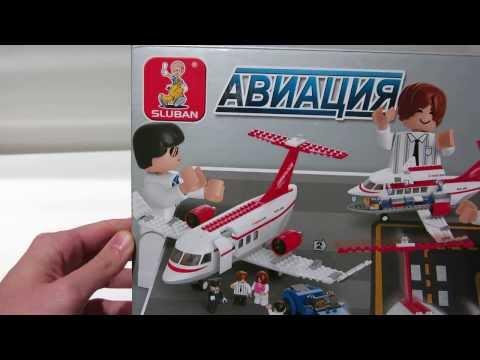 Конструктор Sluban Brick (Слубан Брик) Авиация (Aviation), 275 деталей, М38-В0365