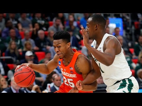 Syracuse pulls off the upset a michigan state