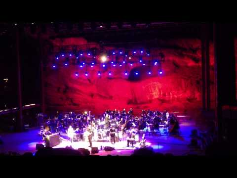 Amos Lee - Black River - at Red Rocks with the Colorado Symphony Orchestra