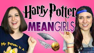 HARRY POTTER Impressions reads MEAN GIRLS Quotes - Ft. BrizzyVoices - Madi2theMax
