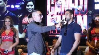 AMIR KHAN VOWS - 'I WILL GIVE CANELO A BOXING LESSON!'  / CANELO v KHAN