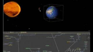 3d Solar System 2 Animation in eyeon fusion & after effects