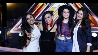 X Factor4 Armenia 4 Chair Challenge Girls
